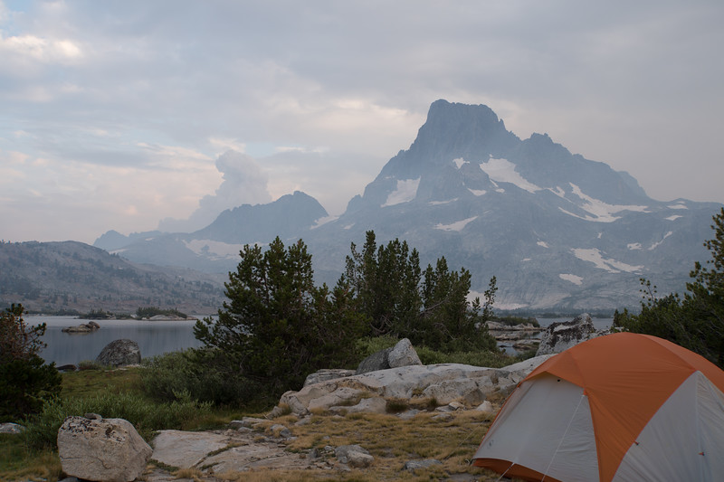 Camp #17 at Thousand Island Lake