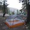 Camp #13, near the Mono Creek trail junction