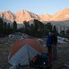 Camp #4, below Forester Pass
