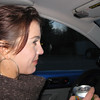 So it looks like Elke is drinking and driving - i'm going to tell a secret - It's ginger ale.