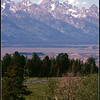 Grand Teton in the center of the photo.