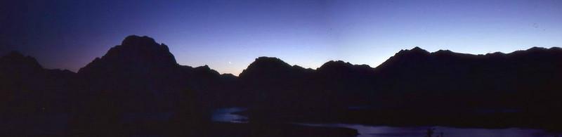 Mt Moran Night Scene