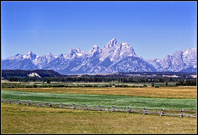 1970 - 2010: Grand Teton National Park, WY