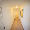 Hallway from bedroom to living room in suite E10.