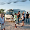 Applause for the last one headed back to the bus.  Negril soon come.