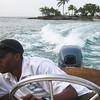 Teran returning from the island