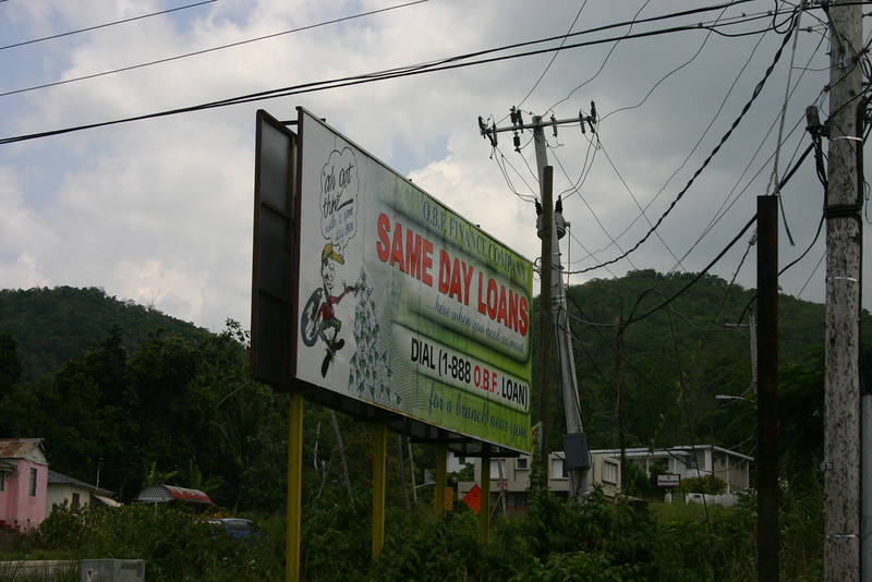 Even in Jamaica, people seem to need Paycheck loans.