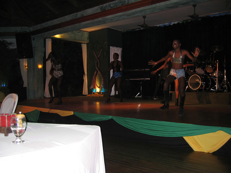 This night exposed tourists to some traditional Jamaican culture.