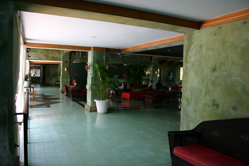 The lobby area.  You will probably walk through it many times over your trip.