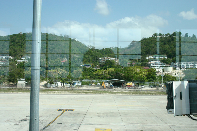 The last view from the airport...