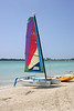 The Hobie Cat, also included.