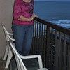Pat on balcony 1st night MB 2