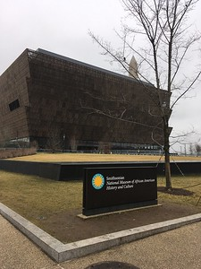 I had wanted to visit this new museum, but we did not have time, and we had not reserved tickets in advance. (Online, we should have reserved tickets months ago, had we known we'd be in DC. This museum is in high demand.)