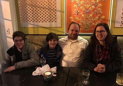 My nephew Mojo and his family