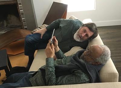 Ken sharing photos with Onye