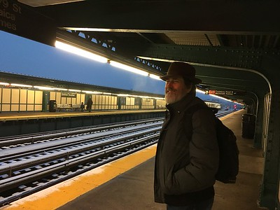Traveling by NYC Metro to Brooklyn for the annual Zlatne Uste Golden Festival...