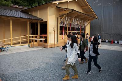 beneden bij Fushimi Inari Shrine, Kyoto
