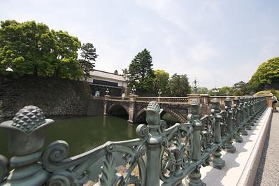 keizerlijk paleis poort (gesloten), Tokyo