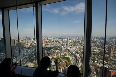 51e verdieping Mori Tower, Tokyo