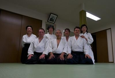 na training bij Yamashima sensei, Tokyo