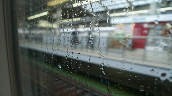 aardig beeld van de dag: regen en reizen