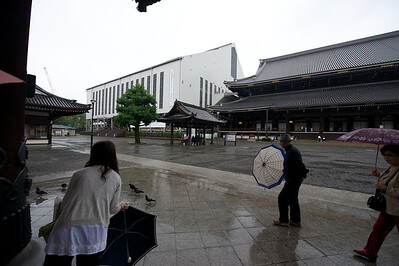 Higashi-honganji tempel, Kyto