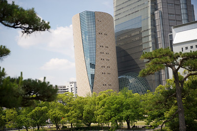 Historisch museum van Osaka.
