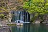 Waterfall at Kokoen 好古園