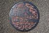 Inuyama manhole cover