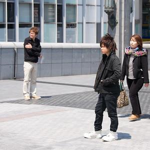 stoere jongen, Osaka