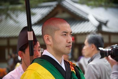deelnemer processie, Nara