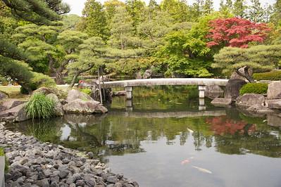 Koekoen, tuin bij Himeji Castle