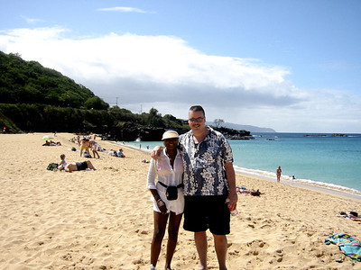 Jeff and Connie in Hawaii