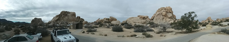 Panorama from our campsite