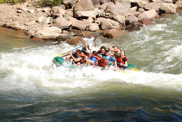 Thursday - Rafting on the Animas