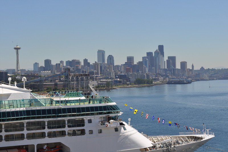 view fom deck 14 day 1 Solstice downtown Seattle