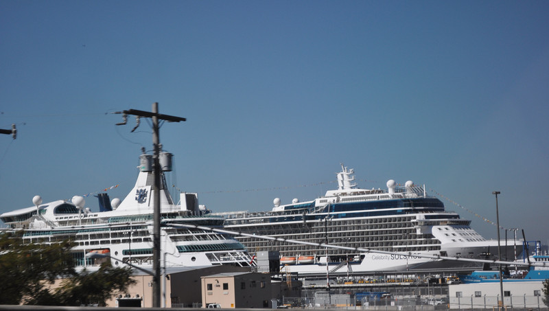 Our Ship Celebrity Solstice in Seattle 2013