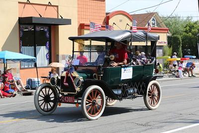 Jul 4 2013 - Parade in Morgan Hill, CA