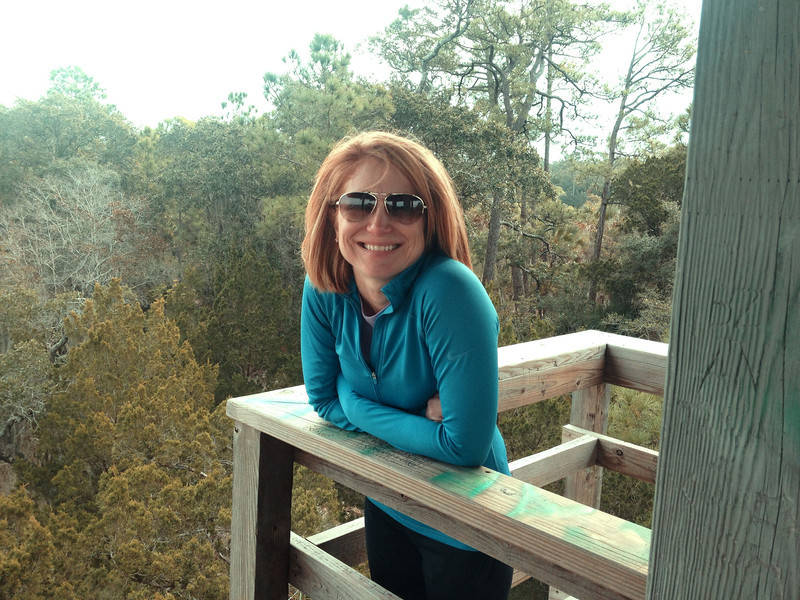 Observation Tower, Kiawah Island, SC. December 2013.