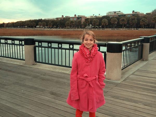 Waterfront Park, Charleston, SC. December 2013.