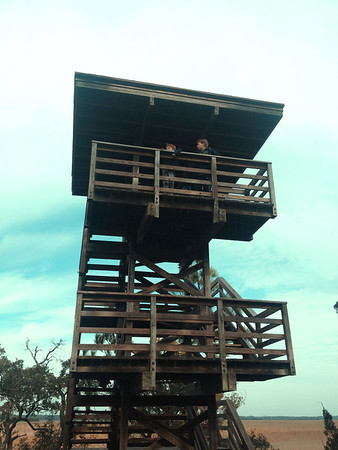 Observation Tower, Kiawah Island, SC.
