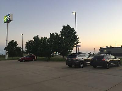 """Parking Lot @ Abilene """"Holiday Inn"""""""