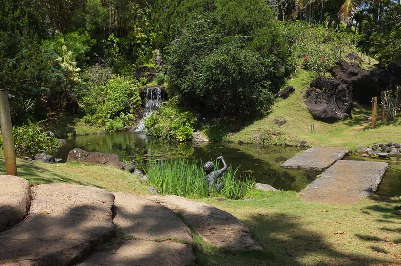 recreation of a japanese tea garden