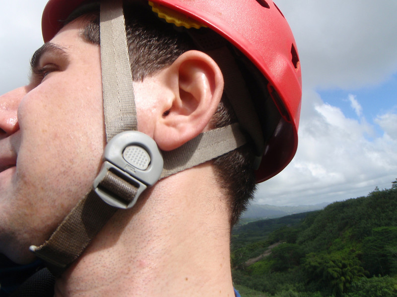 Taking photos of myself while Ziplining wasn't the best idea. :)