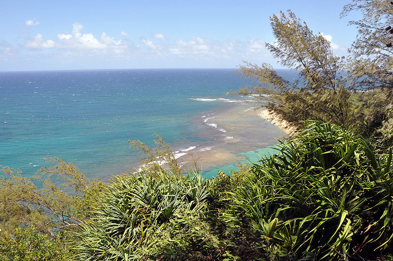 The Kalalau Trail on Kauai (Hawaii).