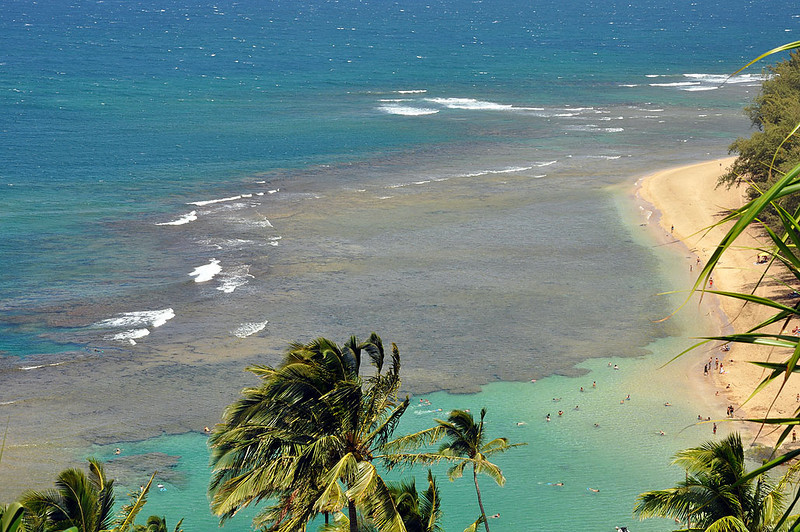 Even a short hike on the Kalalau Trail is rewarded with a view of Kee Beach.