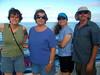 Wendy, Mary (mom), Liz and Sam, aboard the Holo Holo cat.