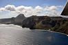 Flying along the southern coast of Kauai.