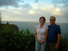 Wendy and Rick at Kilauea Point, Kauai.