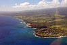 Southern coast of Kauai, where a couple of the larger, exclusive resorts are located.
